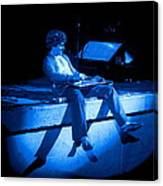 S H Plays The Blues In Spokane On 2-2-77 Canvas Print