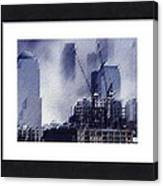Sample Example Grey Canvas Print