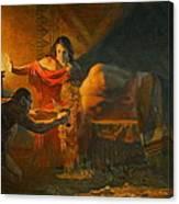 Samson And Dalida Canvas Print