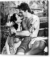 Samson And Delilah, From Left, Hedy Canvas Print