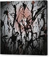 Samurai In The Weeds 2 Canvas Print
