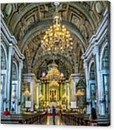 San Agustin Church  Canvas Print