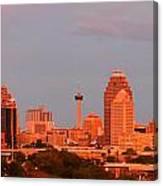 San Antonio - Skyline At Last Light Canvas Print