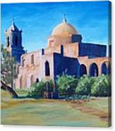 San Antonio Mission Canvas Print