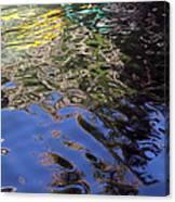 San Antonio River Reflection Canvas Print