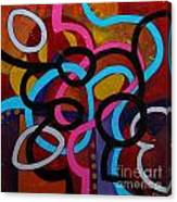 San Antonio Shuffle Canvas Print