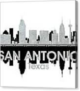San Antonio Tx 4 Canvas Print