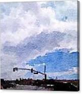 San Benito Sky Canvas Print