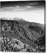 San Bernardino Snow Canvas Print