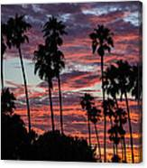 San Clemente Sunset Canvas Print