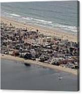 San Diego Coast Aeriol 3 Canvas Print
