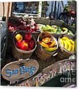 San Diego Old Town Market Canvas Print