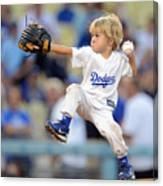 San Diego Padres V Los Angeles Dodgers Canvas Print