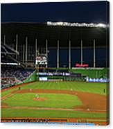 San Diego Padres V Miami Marlins Canvas Print