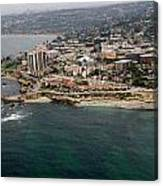 San Diego Shoreline From Above Canvas Print