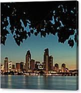 San Diego Sunrise Canvas Print
