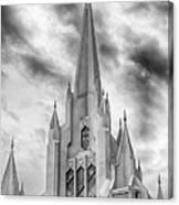 San Diego Temple Canvas Print