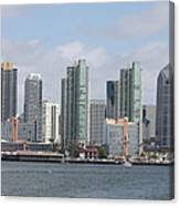 San Diego Waterfront Canvas Print