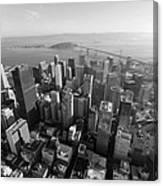 San Francisco Aerial Canvas Print