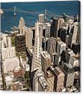 San Francisco Aloft Canvas Print