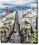 San Francisco Backlot Walt Disney World Canvas Print