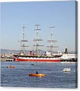 San Francisco Boats Canvas Print