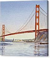 San Francisco California Golden Gate Bridge Canvas Print