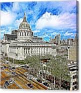 San Francisco City Hall 5d22507 Photoart Canvas Print