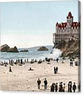 San Francisco Cliff House 1902 Canvas Print