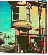 San Francisco 1968 Pop Art Canvas Print