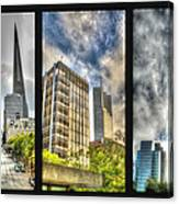San Francisco Embarcadero Panel Canvas Print