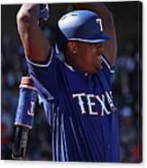 San Francisco Giants v Texas Rangers Canvas Print