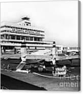 San Francisco International Airport Passenger Terminal Circa 195 Canvas Print