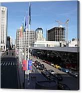 San Francisco Moscone Center And Skyline - 5d20511 Canvas Print