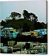 San Francisco Neighborhood Canvas Print