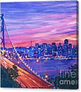 San Francisco Nights Canvas Print
