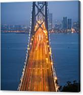 San Francisco - Oakland Bay Bridge Canvas Print