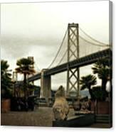 San Francisco Oakland Bay Bridge Canvas Print