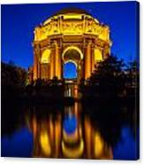 San Francisco Palace Of Fine Arts Canvas Print