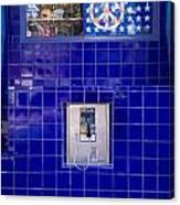 San Francisco Pay Phone Canvas Print