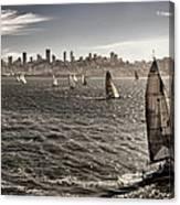 San Francisco Sails Canvas Print