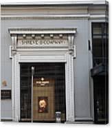 San Francisco Shreve Storefront - 5d20583 Canvas Print