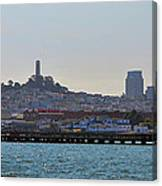 San Francisco Skyline -2 Canvas Print
