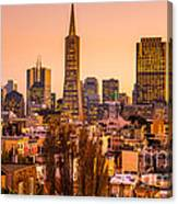 San Francisco Skyline Canvas Print