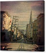 San Francisco Street Canvas Print