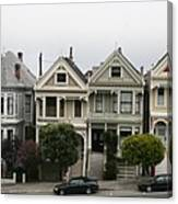 San Francisco - The Painted Ladies Canvas Print