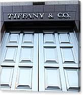San Francisco Tiffany And Company Store Doors - 5d20562 Canvas Print