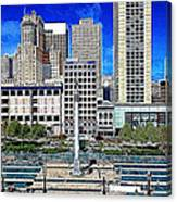 San Francisco Union Square 5d17938 Artwork Canvas Print