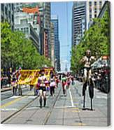 San Francisco's Gay Pride Parade Canvas Print