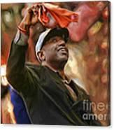 San Fransco Giants Barry Bonds Canvas Print
